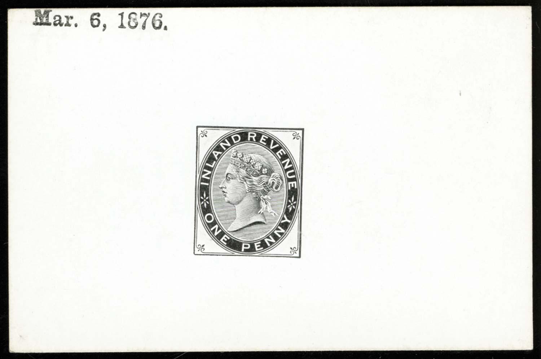 GB 1876  SGF20var Postal Fiscal
