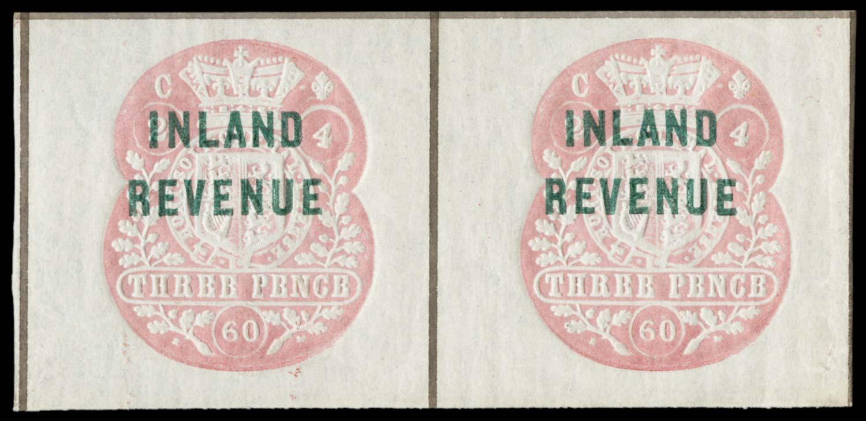 GB 1860  SGF29 Postal Fiscal