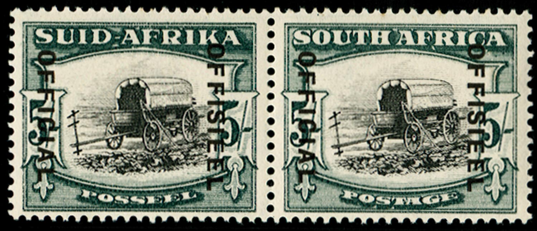 SOUTH AFRICA 1935  SGO28 Official
