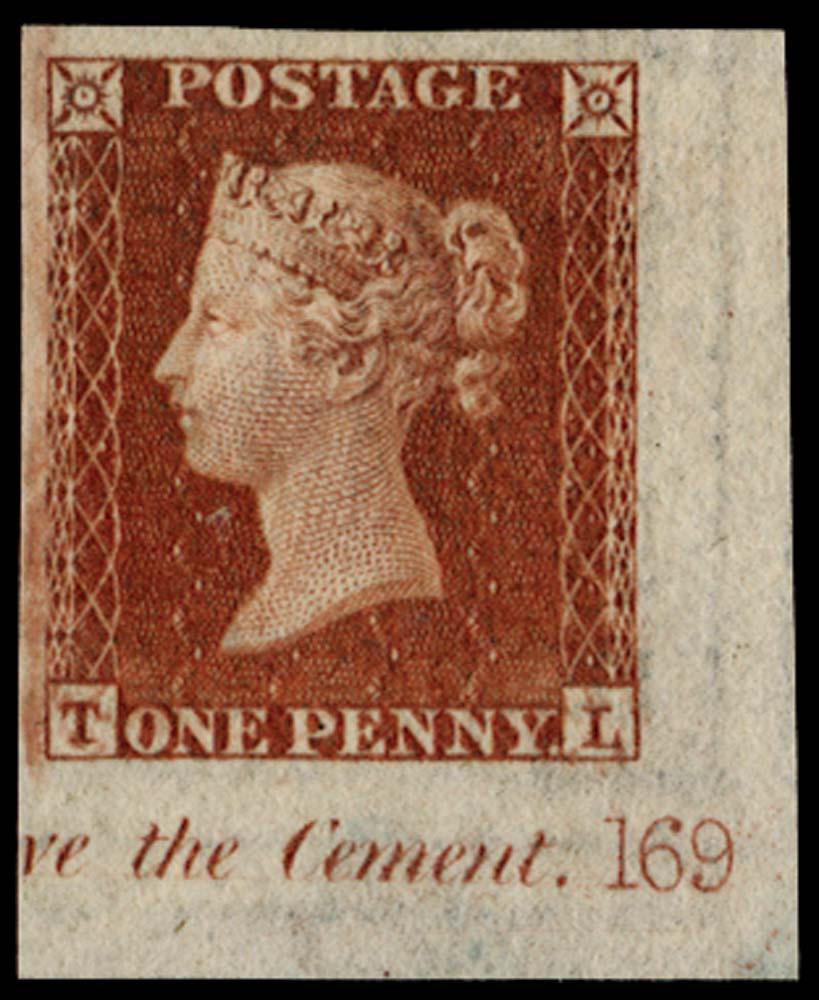 GB 1841  SG8var Pl.169 Mint