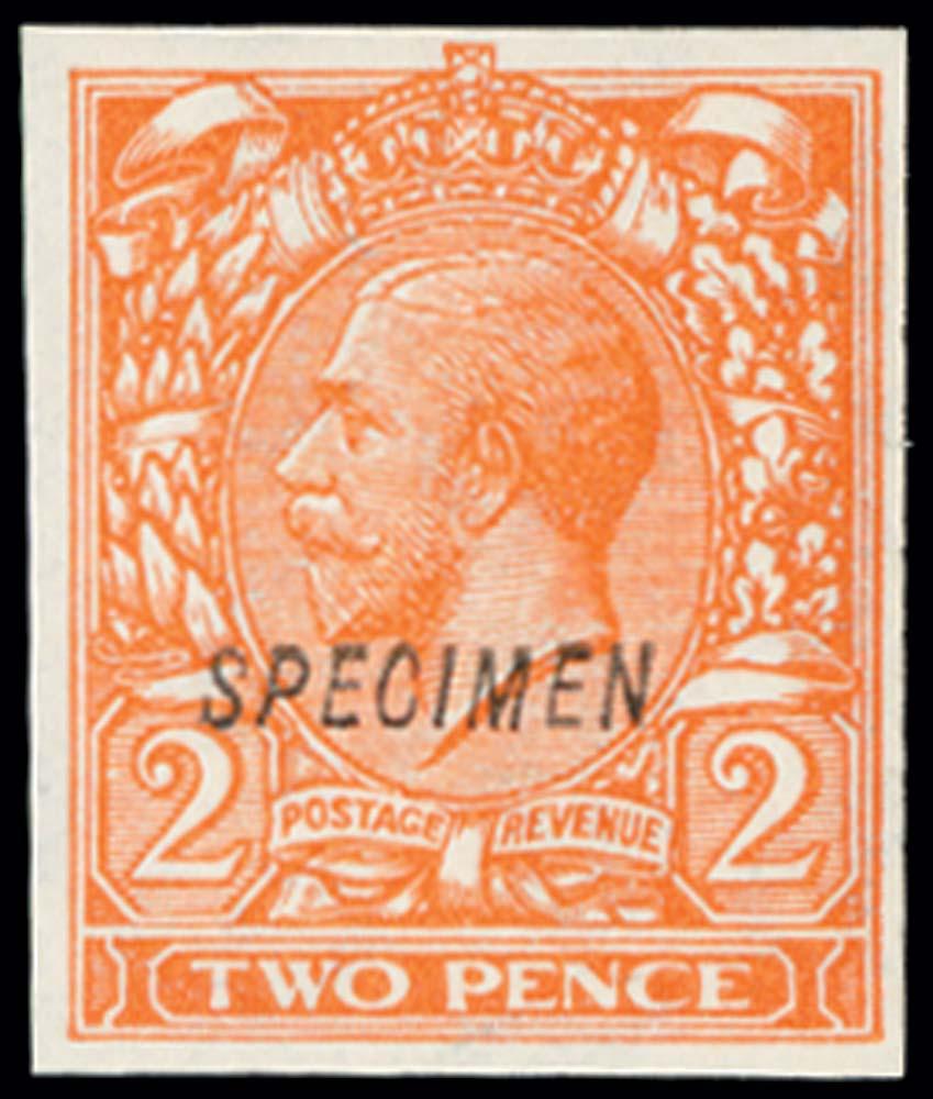 GB 1924  SG421var Specimen