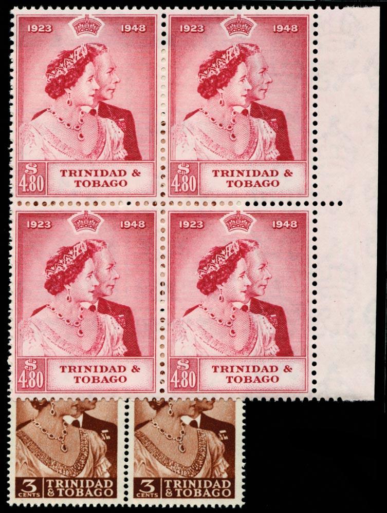 TRINIDAD & TOBAGO 1948  SG259/60 Mint