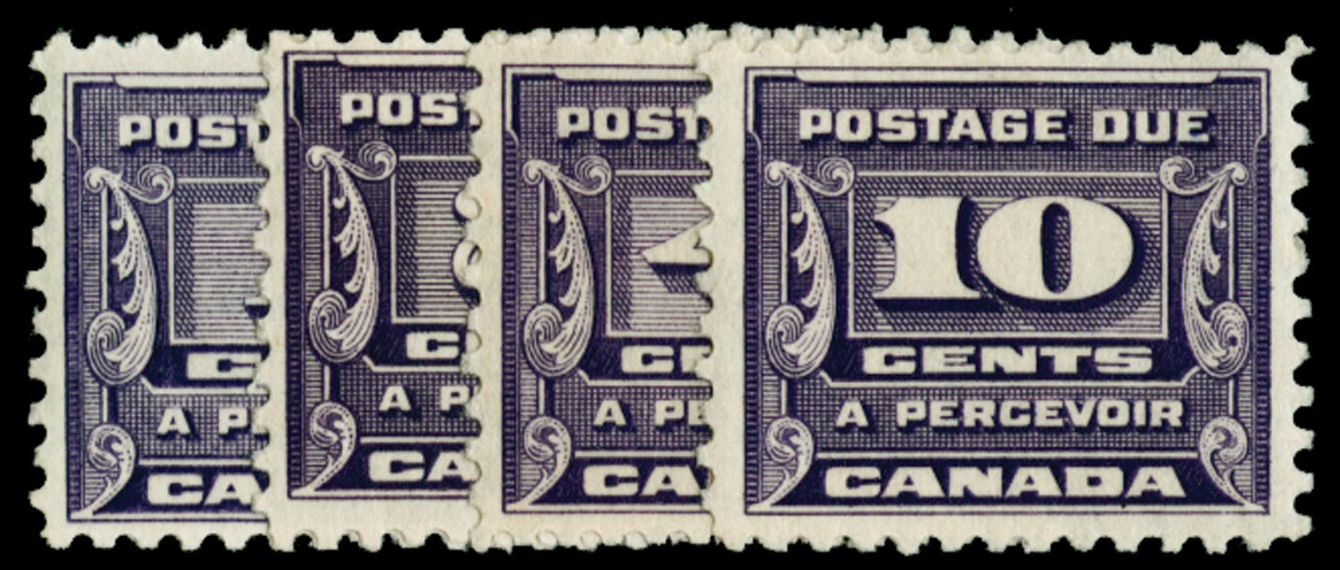 CANADA 1933  SGD14/17 Postage Due