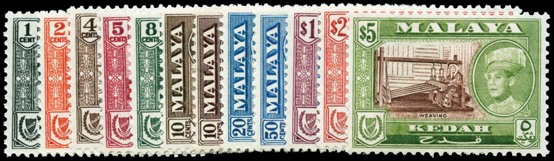 MALAYA - KEDAH 1959  SG104/14 Mint