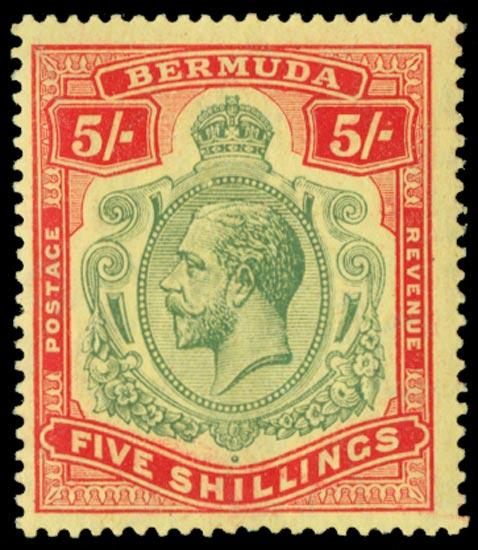 BERMUDA 1918  SG53c Mint