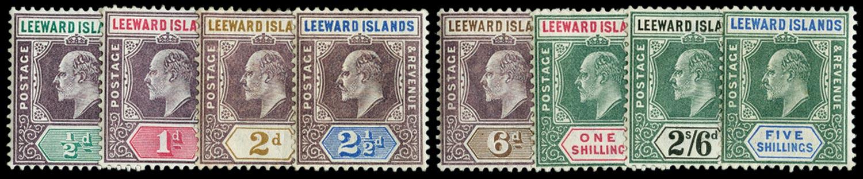 LEEWARD ISLANDS 1902  SG20/8 Mint