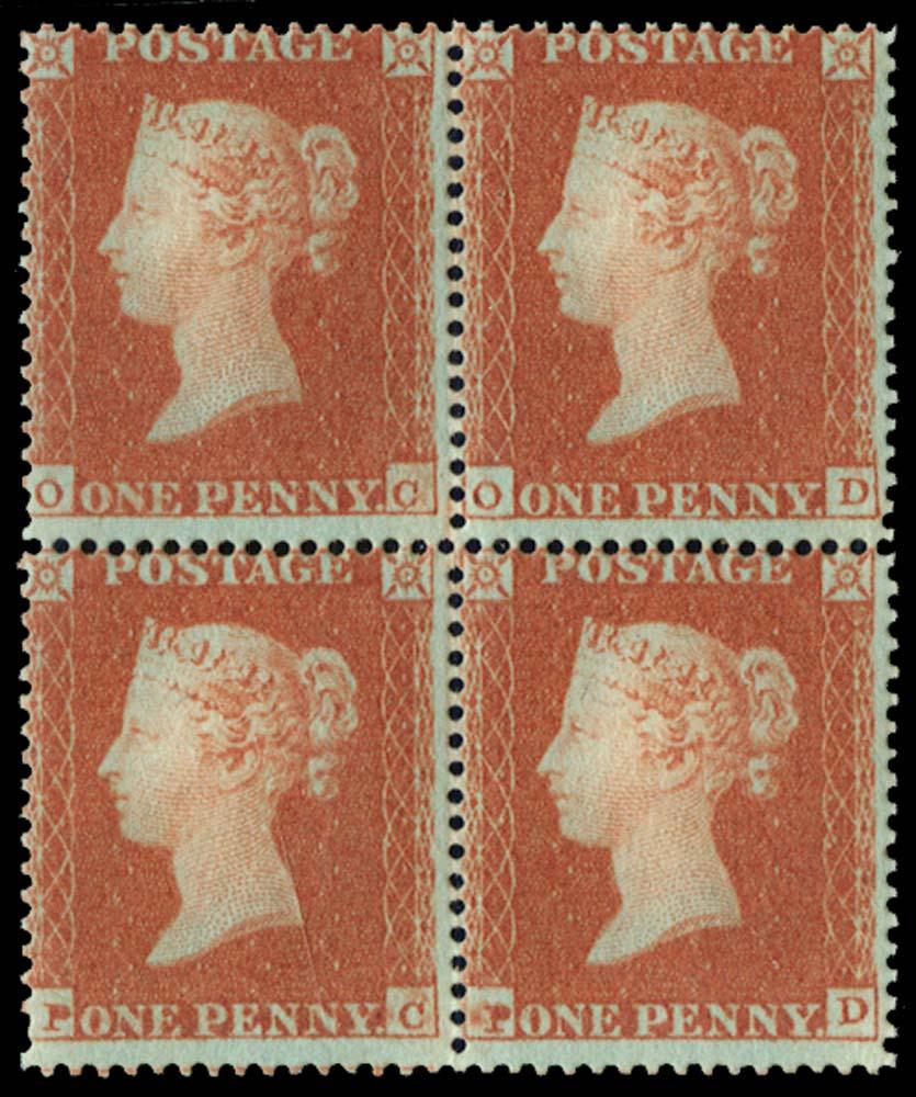 GB 1850  SG16b Mint