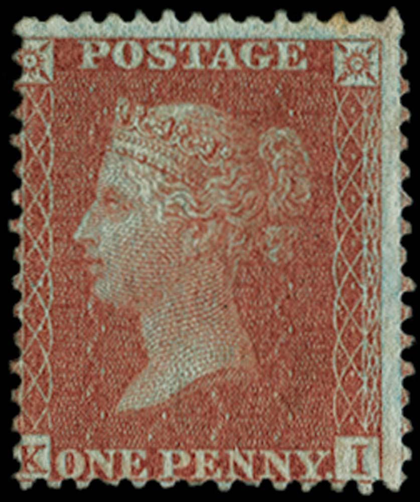 GB 1855  SG24var Pl.26 Mint