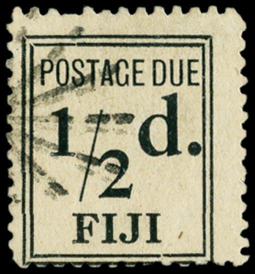 FIJI 1917  SGD5a Postage Due