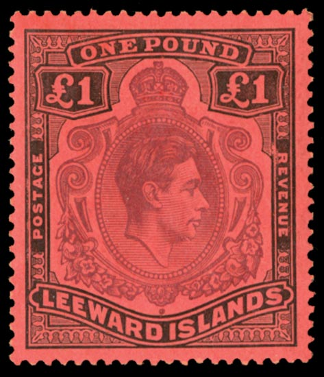 LEEWARD ISLANDS 1938  SG114af Mint
