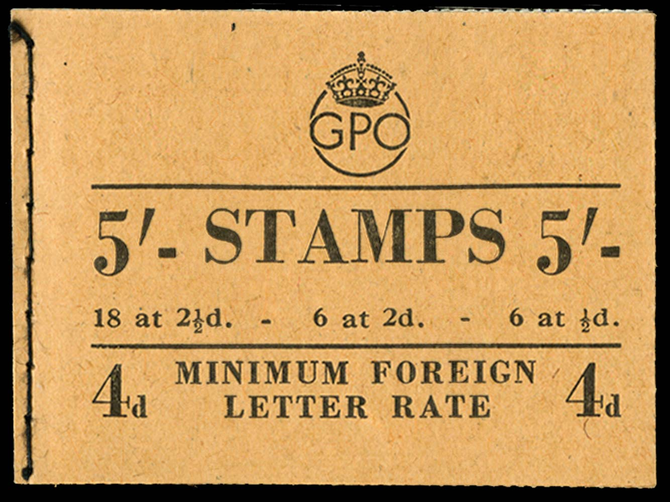 GB 1950  SGBD28 Booklet (Dec)