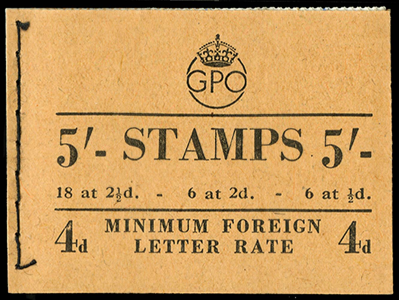 GB 1950  SGBD28 Booklet (Dec)