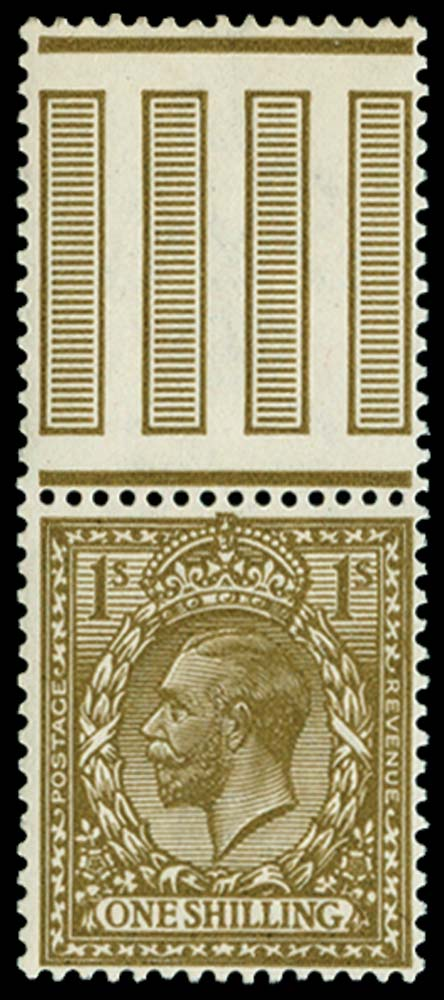 GB 1913  SG396var Mint
