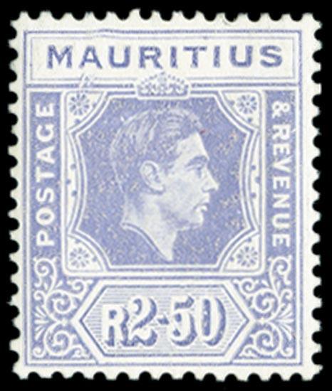 MAURITIUS 1938  SG261ab Mint