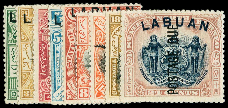 LABUAN 1901  SGD1/9 Postage Due