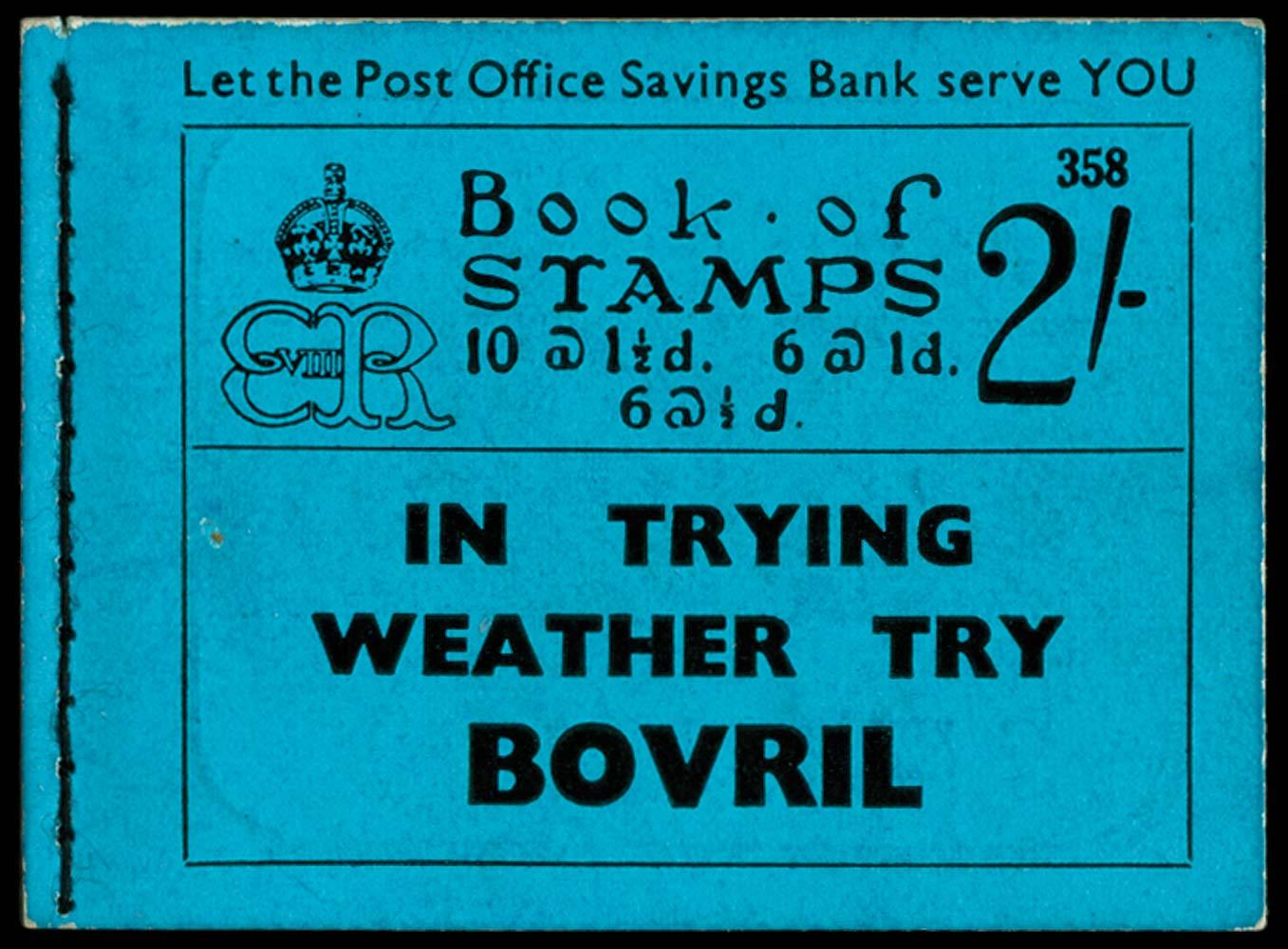 GB 1936  SGBC2 Booklet (Edition 358)