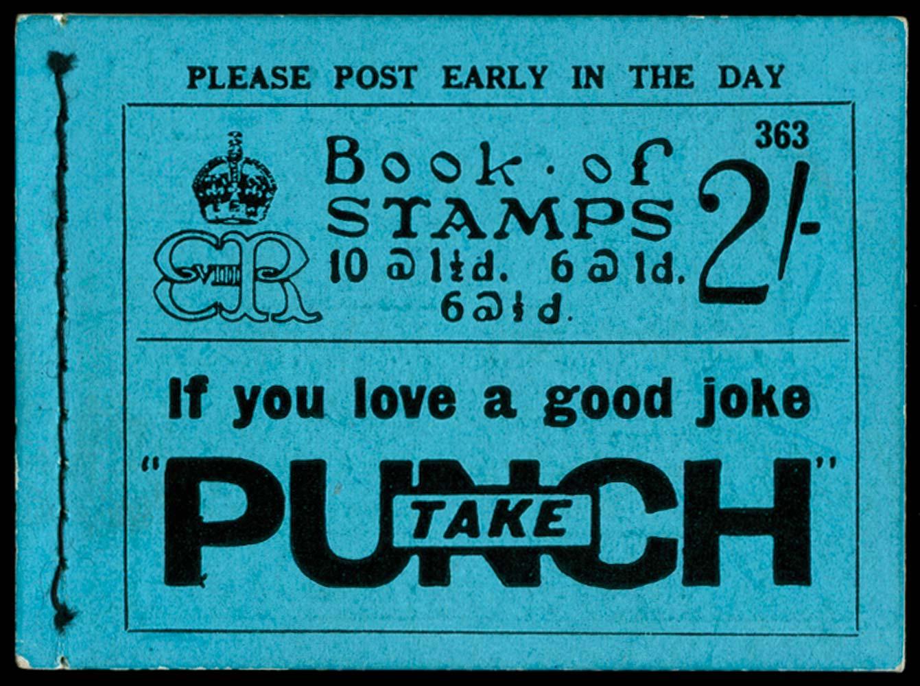 GB 1936  SGBC2 Booklet (Edition 363)