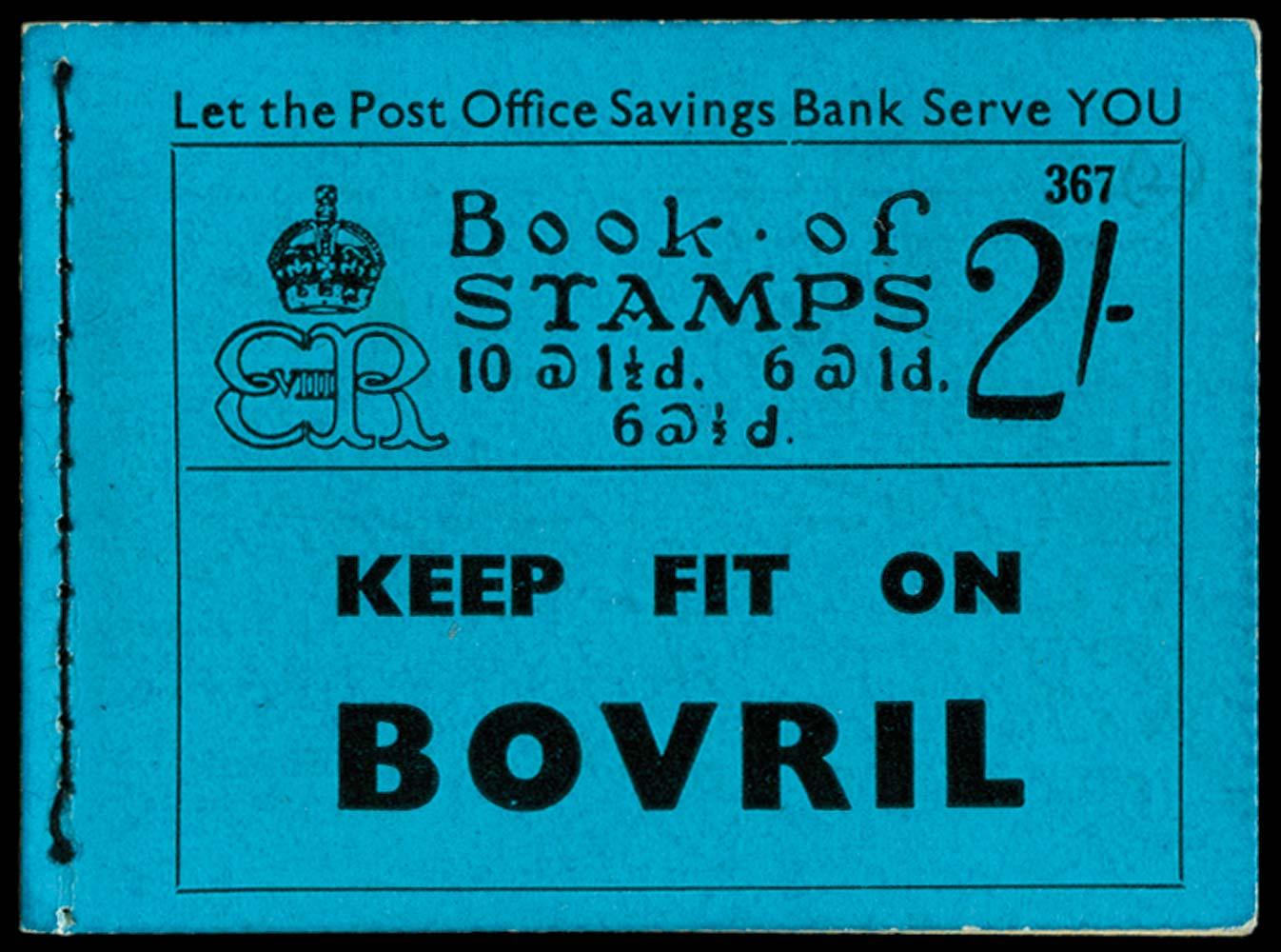 GB 1936  SGBC2 Booklet (Edition 367)