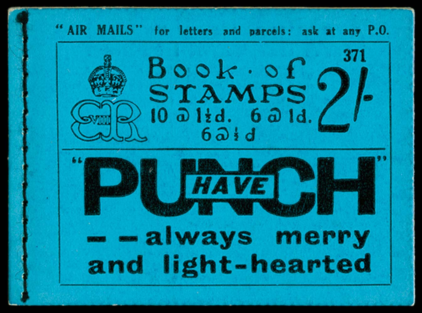 GB 1936  SGBC2 Booklet (Edition 371)