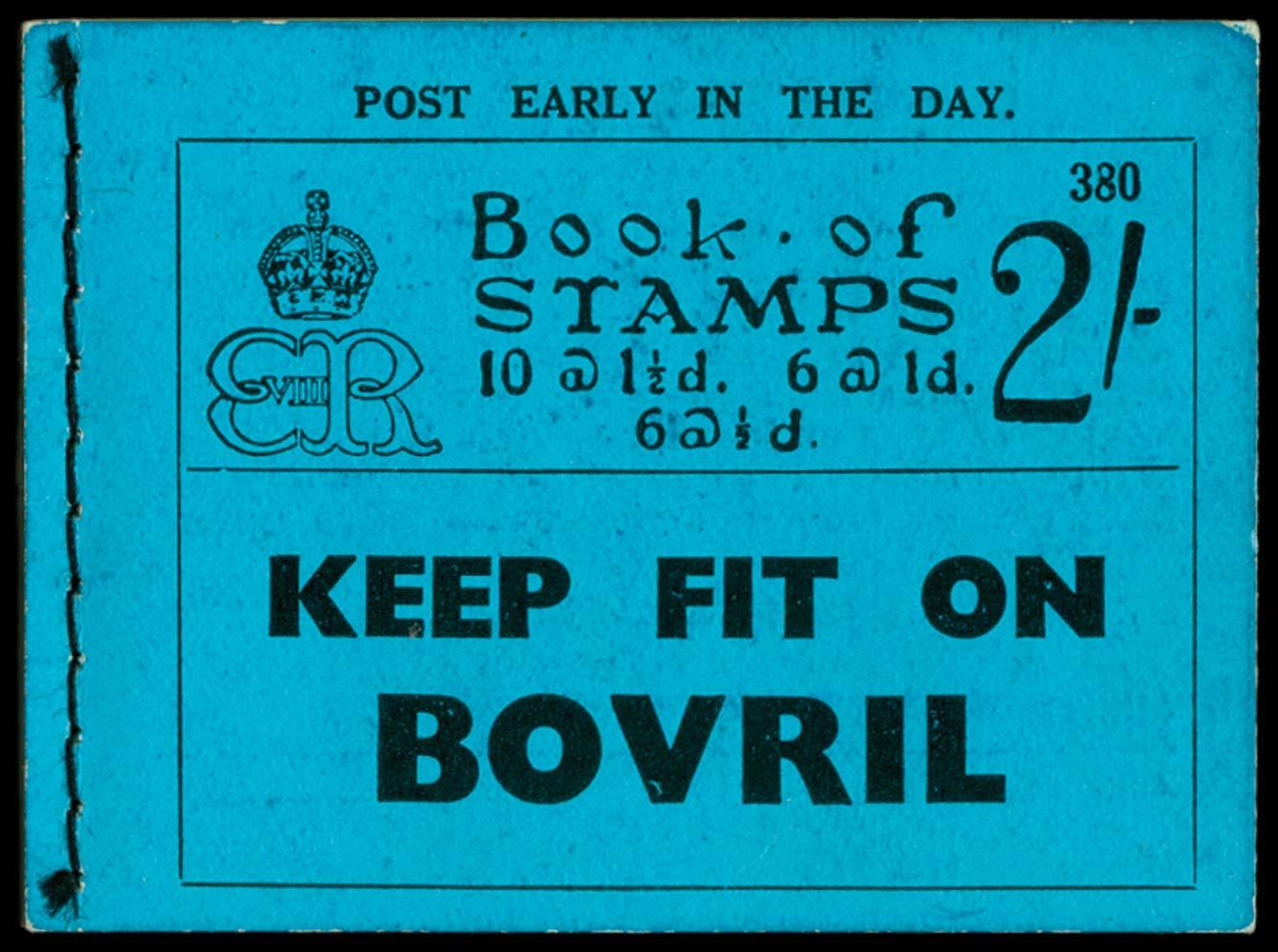 GB 1936  SGBC2 Booklet (Edition 380)