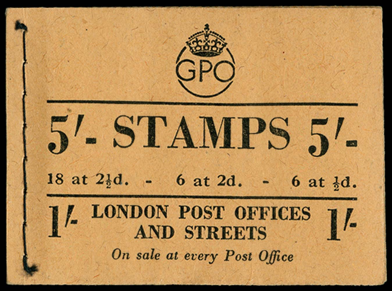 GB 1950  SGBD28 Booklet (June)
