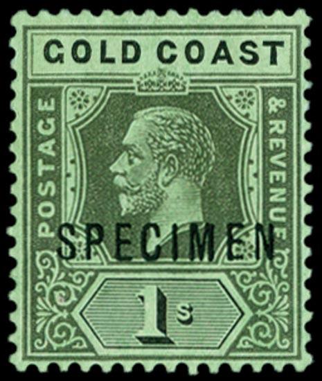 GOLD COAST 1913  SG79es Specimen