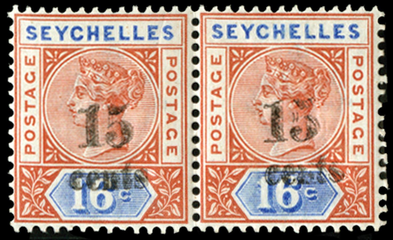 SEYCHELLES 1893  SG19b Mint