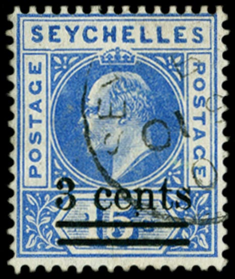 SEYCHELLES 1903  SG57a Used