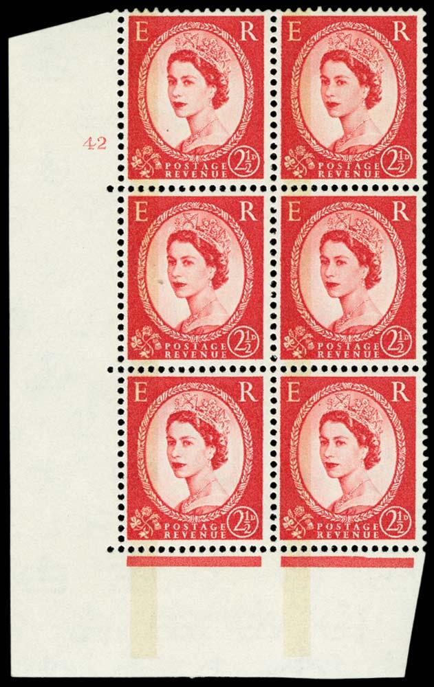 GB 1961  SG614b Mint