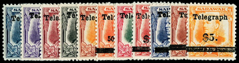 SARAWAK   SGT12/22 Telegraph