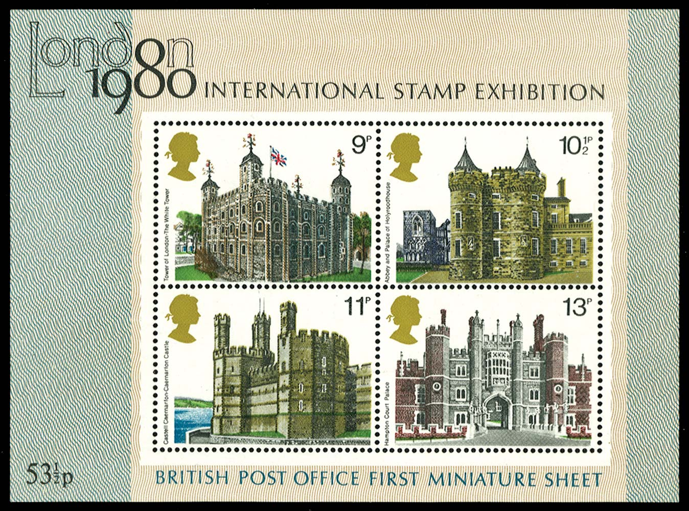 GB 1978  SGMS1058d Mint orange-yellow omitted