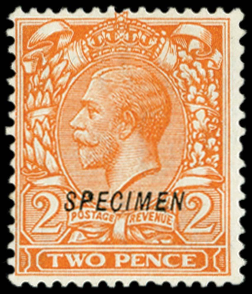 GB 1924  SG421s Specimen