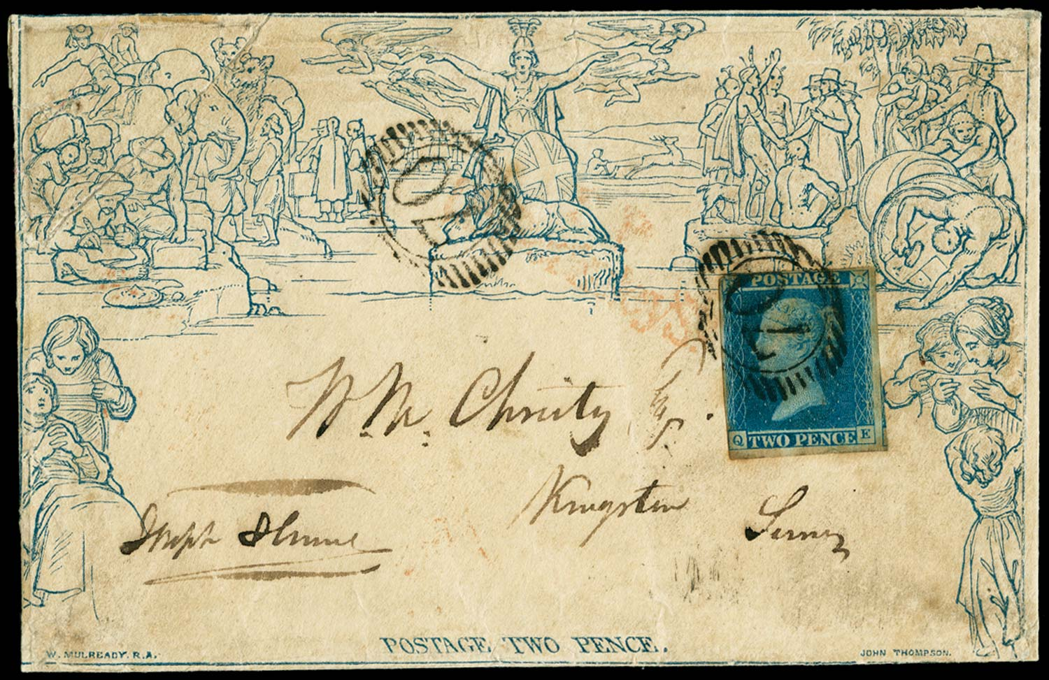 GB 1840  SGME4,14 Pl.3 Cover