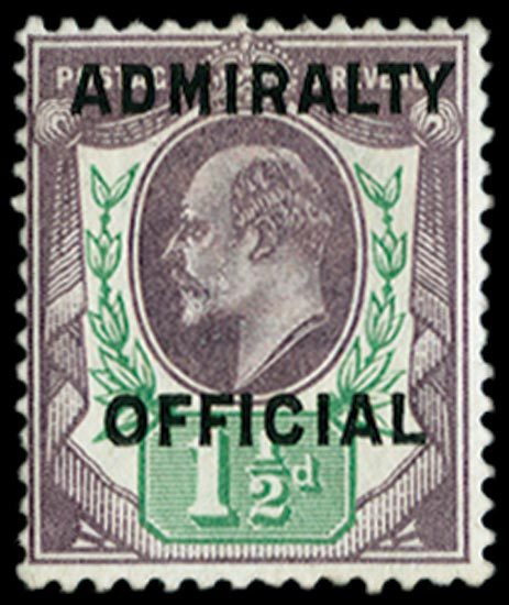 GB 1903  SGO109 Official