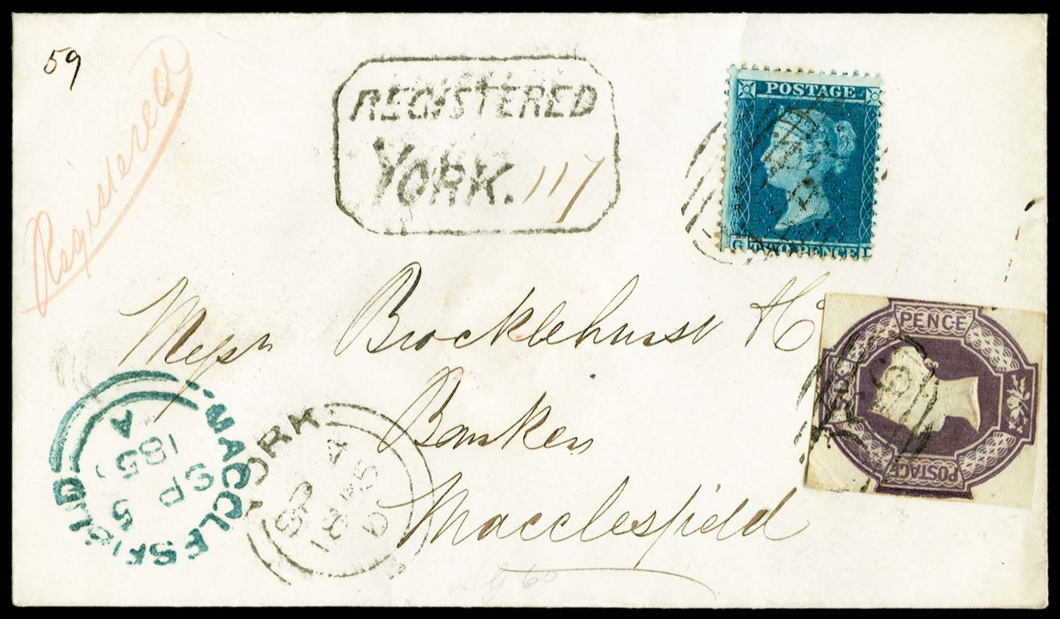 GB 1855  SG34,60 Pl.5 Cover