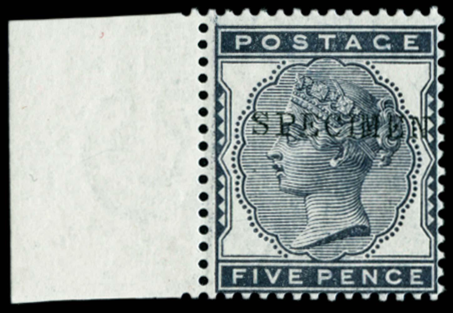 GB 1880  SG169s Specimen