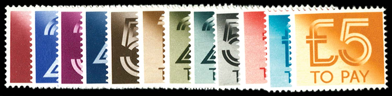 GB 1982  SGD90/101 Mint