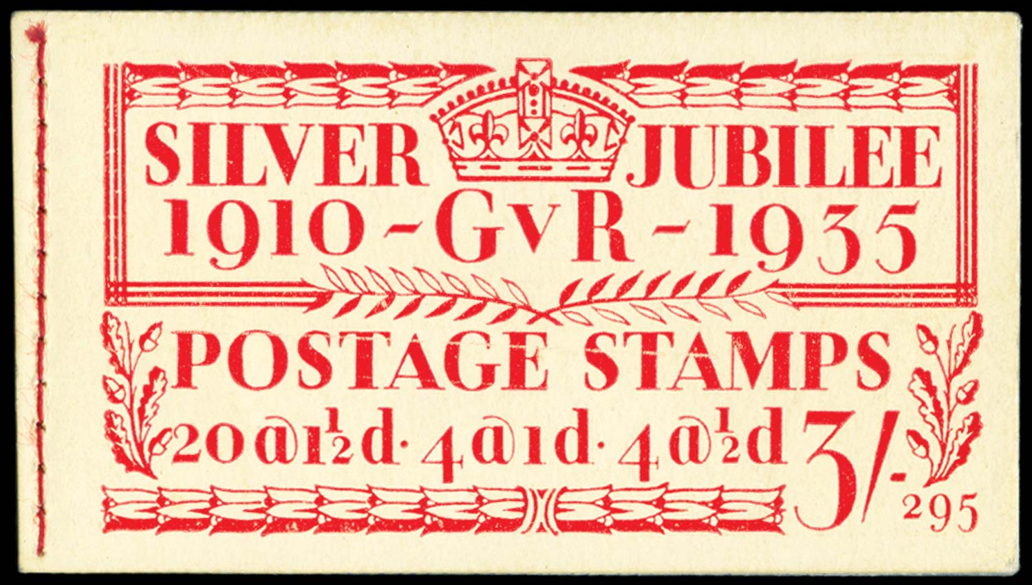 GB 1935  SGBB28 Booklet (Edition 295)