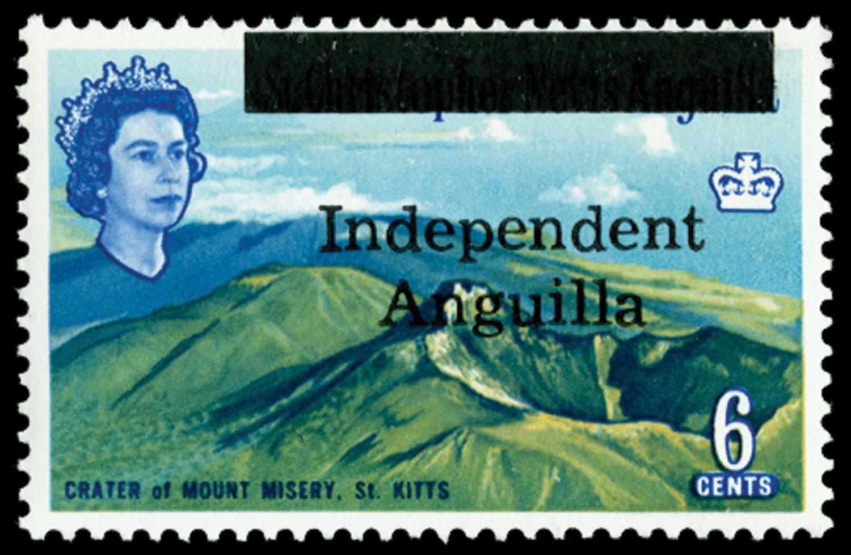 ANGUILLA 1967  SG7 Mint