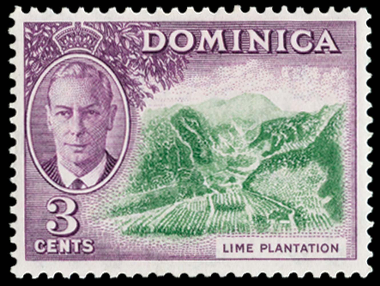DOMINICA 1951  SG123a Mint