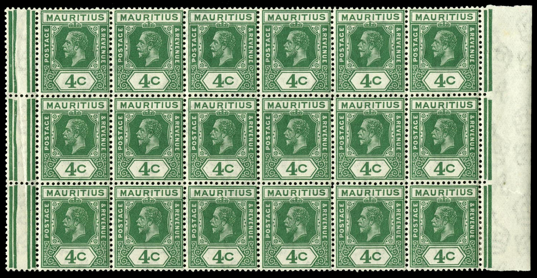 MAURITIUS 1921  SG226c Mint