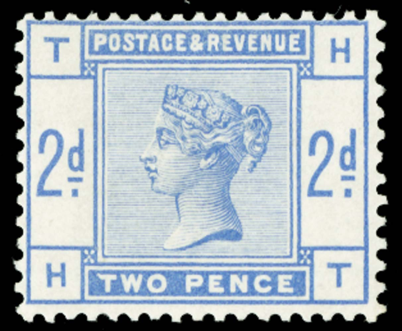 GB 1884  SG189var Mint