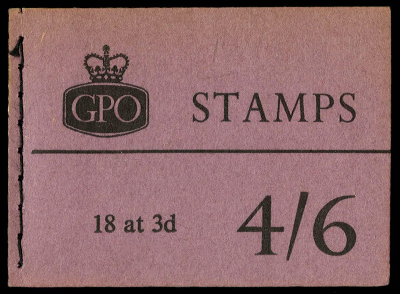 GB 1959  SGL11g Booklet
