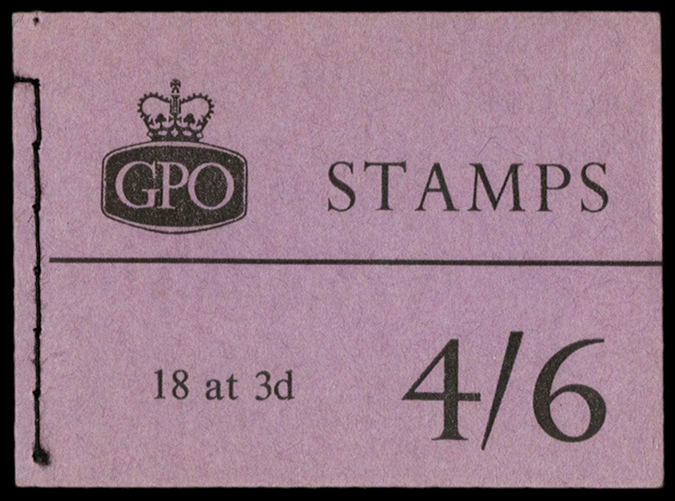 GB 1959  SGL15g Booklet