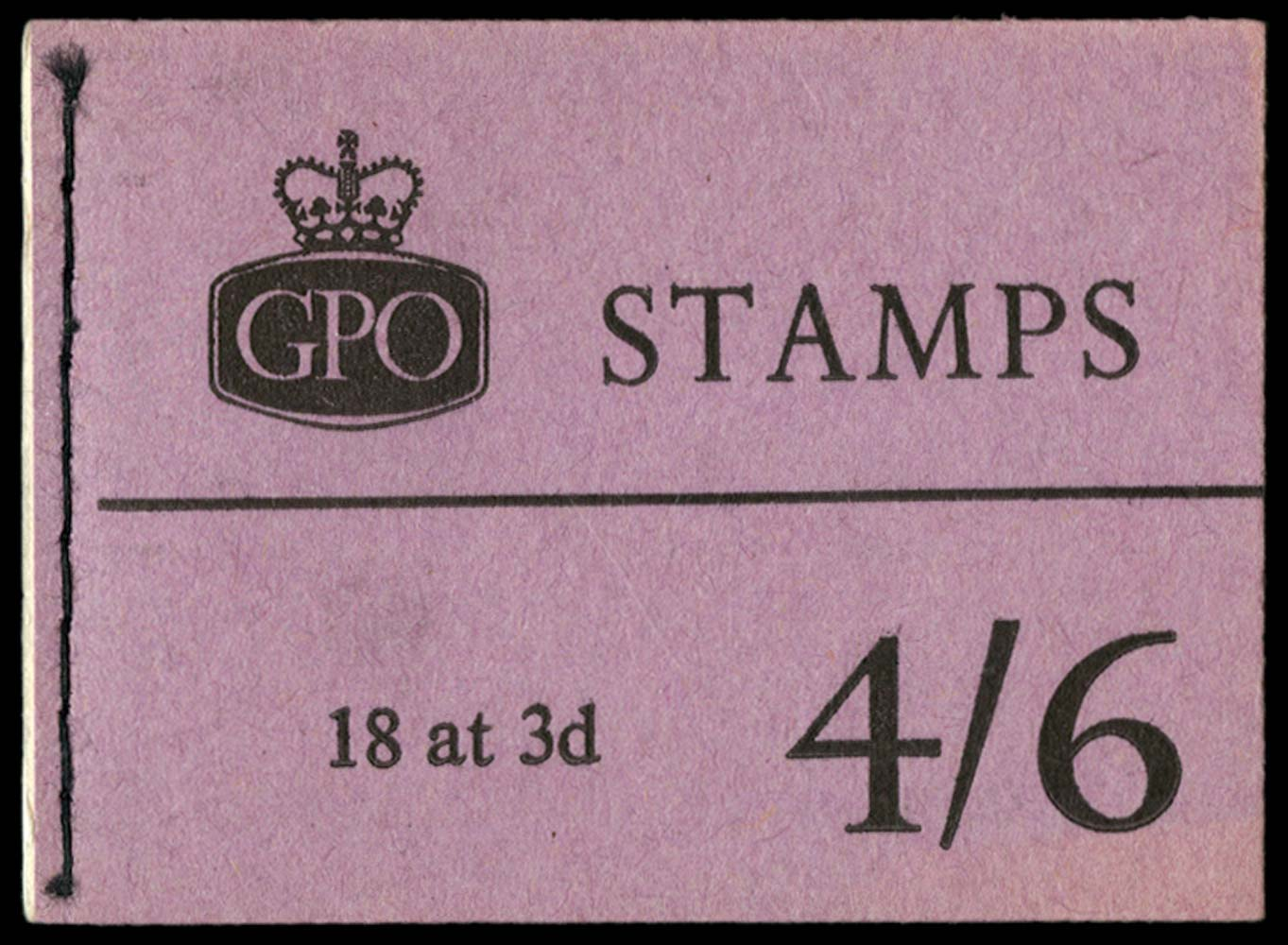 GB 1960  SGL18g Booklet