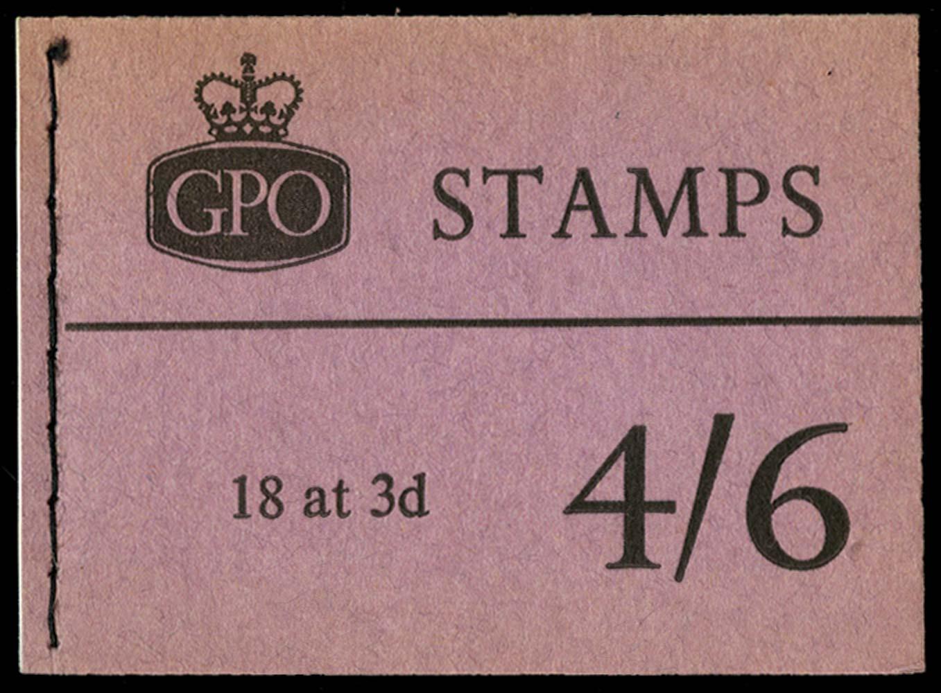 GB 1960  SGL21 Booklet