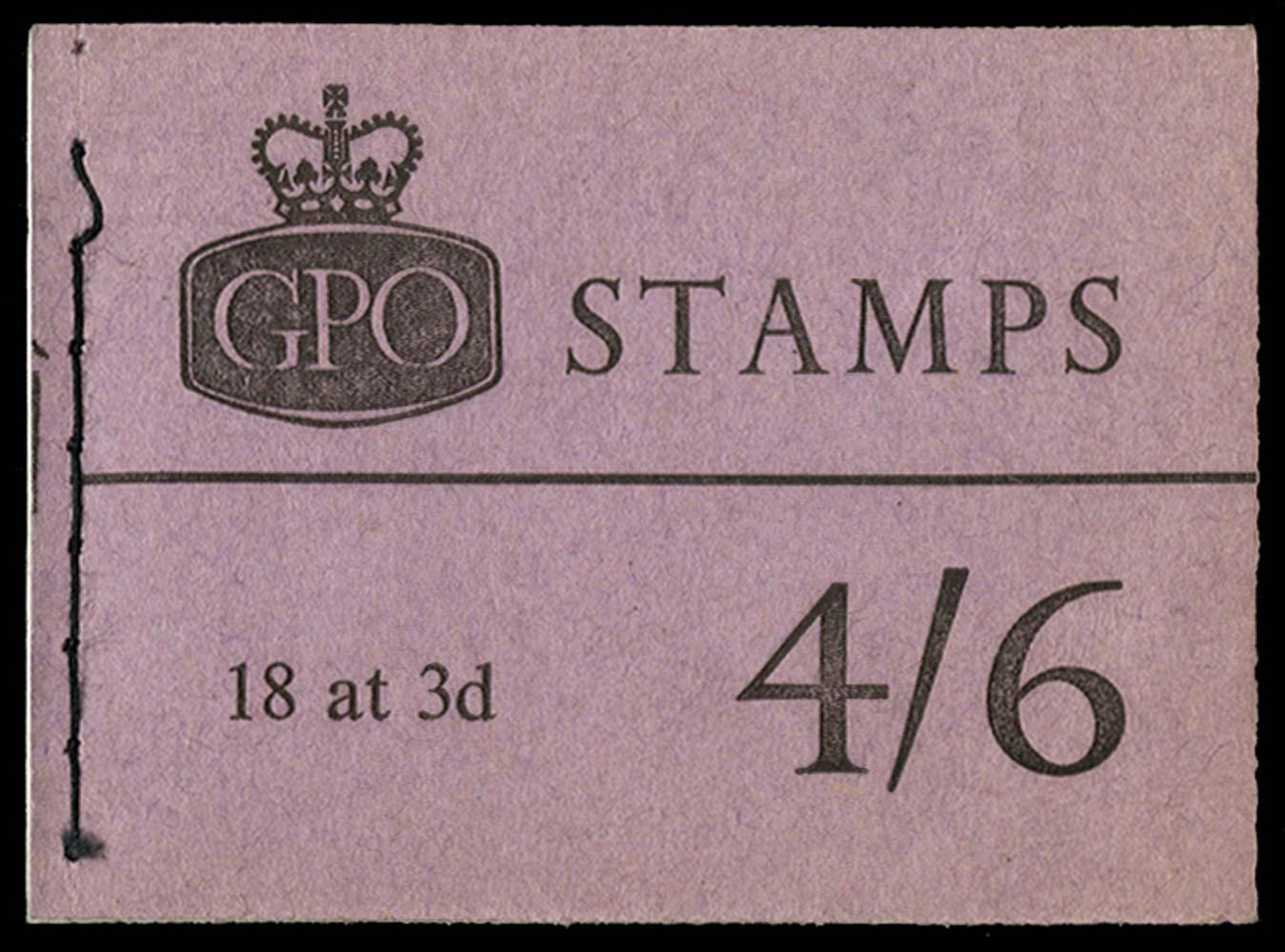 GB 1961  SGL25 Booklet