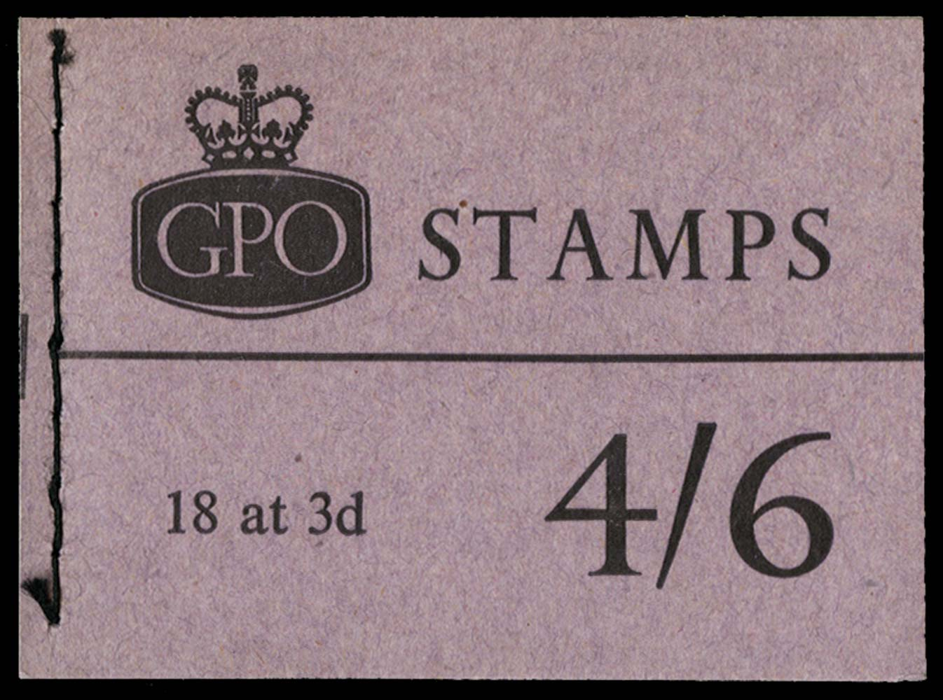 GB 1961  SGL27 Booklet