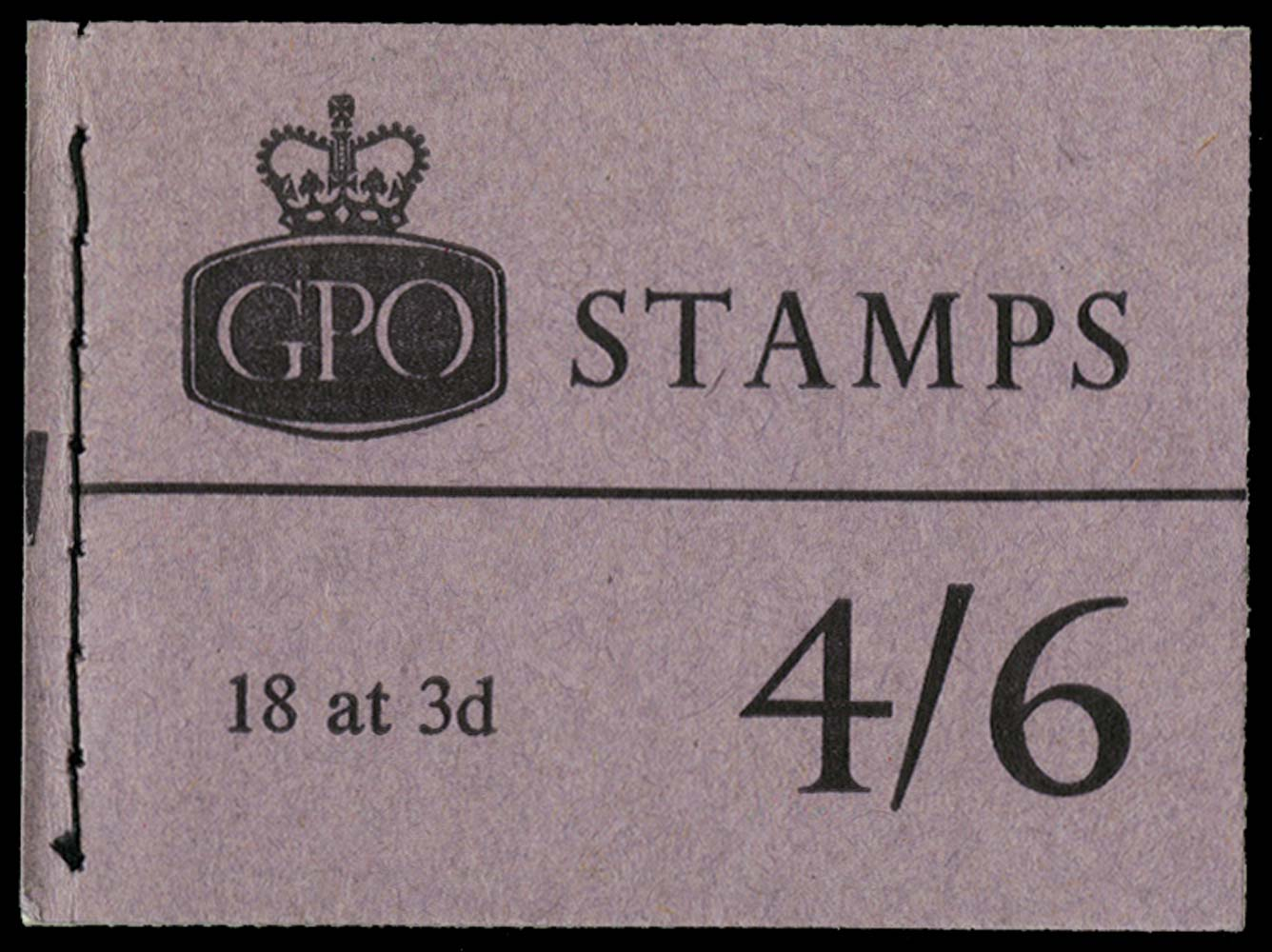 GB 1961  SGL29 Booklet
