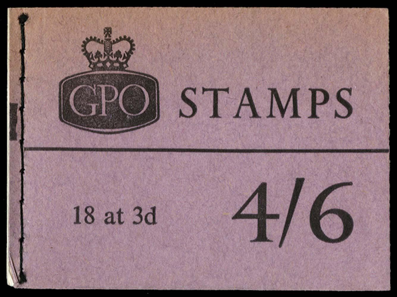 GB 1962  SGL30 Booklet
